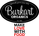 Pomegranate Heart Women's Long Sleeve Tee by Burkart Organics - Make Love With Food  - 5