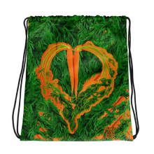 Load image into Gallery viewer, Carrot Heart Drawstring Bag