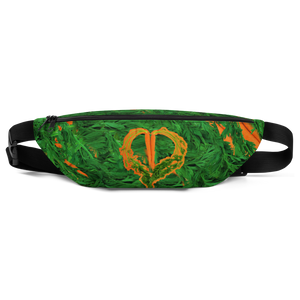 Carrot Heart Fanny Pack front