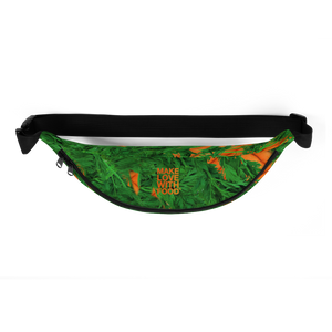 Carrot Heart Fanny Pack top