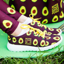Load image into Gallery viewer, maroon avocado sports shoes women's shoes