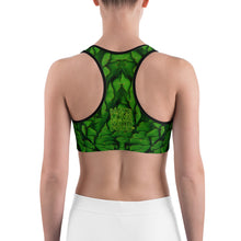 Load image into Gallery viewer, Artichoke Women's Yoga Sports Bra Back