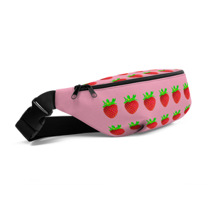 Strawberry Fanny Pack side
