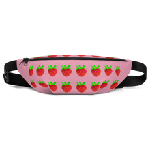 Load image into Gallery viewer, Strawberry Fanny Pack front