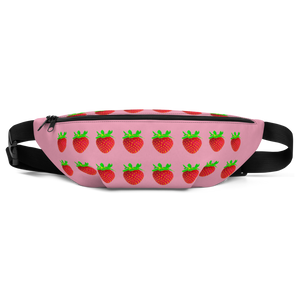 Strawberry Fanny Pack front