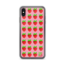Load image into Gallery viewer, Strawberry iPhone 6/6s Case