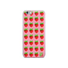 Load image into Gallery viewer, Strawberry iPhone 6/6s Case lifestyle