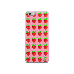 Strawberry iPhone 6/6s Case lifestyle