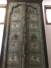 1900s Moroccan Armoire