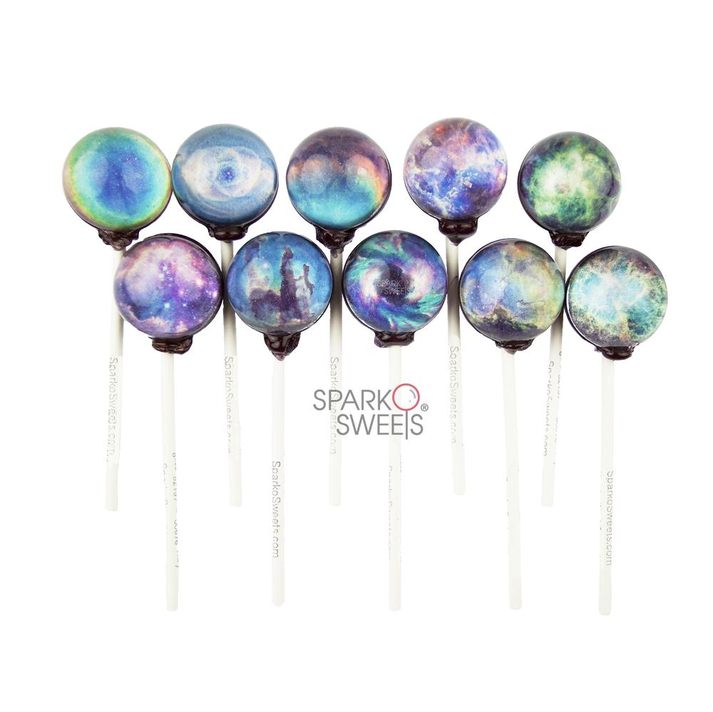 Galaxy Nebula Lollipops (Variety)