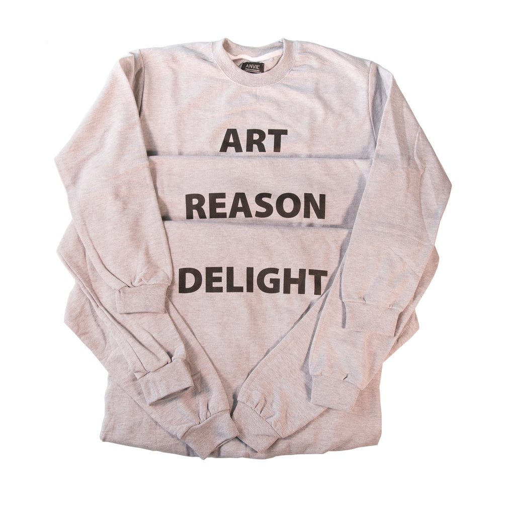 Art, Reason, Delight Sweatshirts