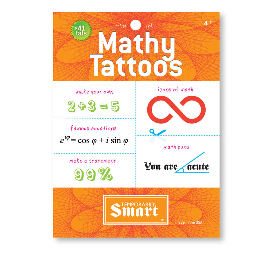 Mathy Tattoos