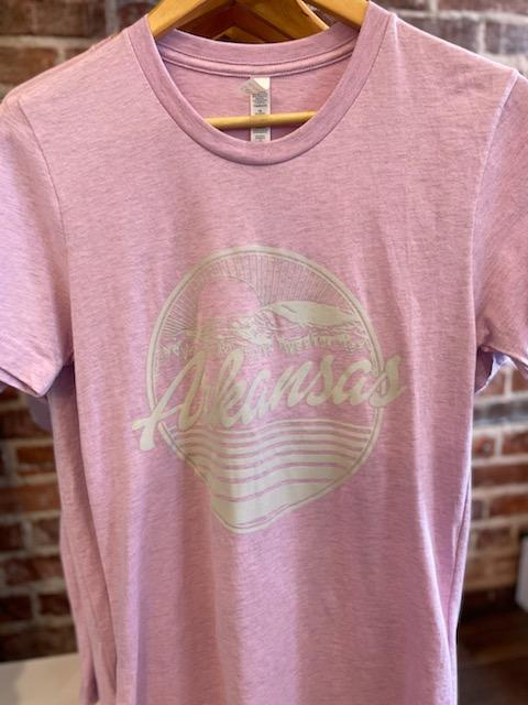 Arkansas Round Graphic Tee