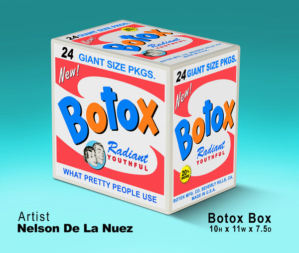 "The De La Nuez ""Botox Box"" Sculpture"