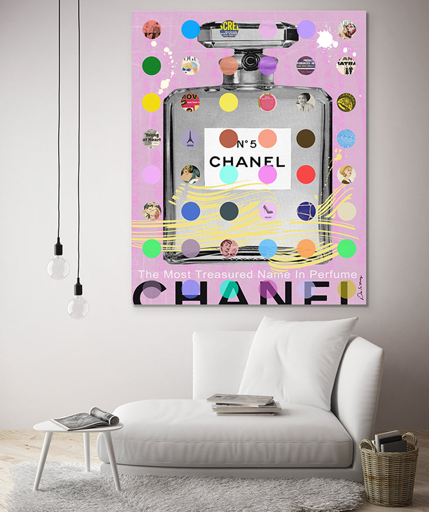 king of pop art nelson de la nuez chanel perfume luxury fashion designer resin