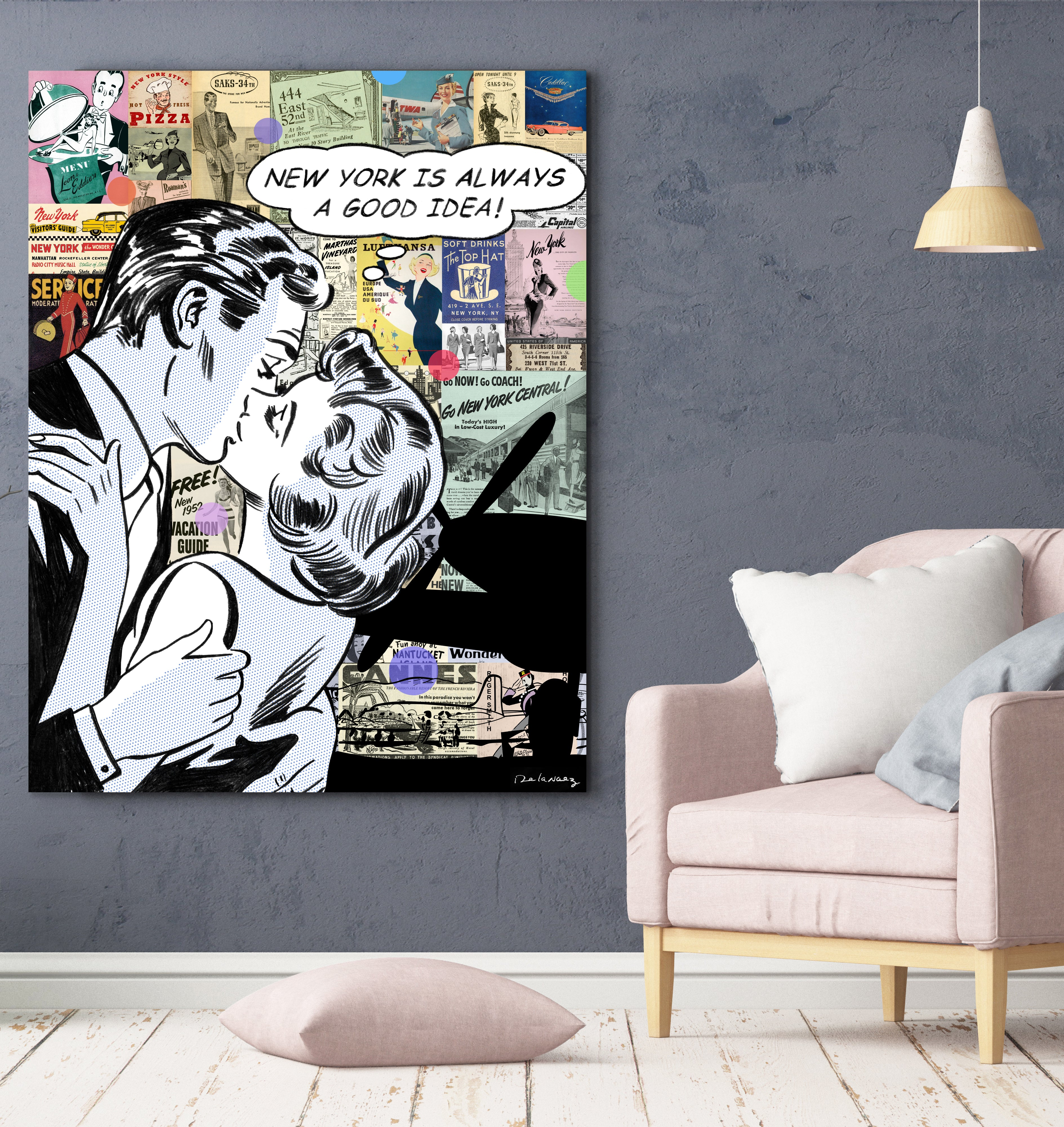 travel lets fly away nelson de la nuez new york nyc luxury travel pop art king of pop art interior design