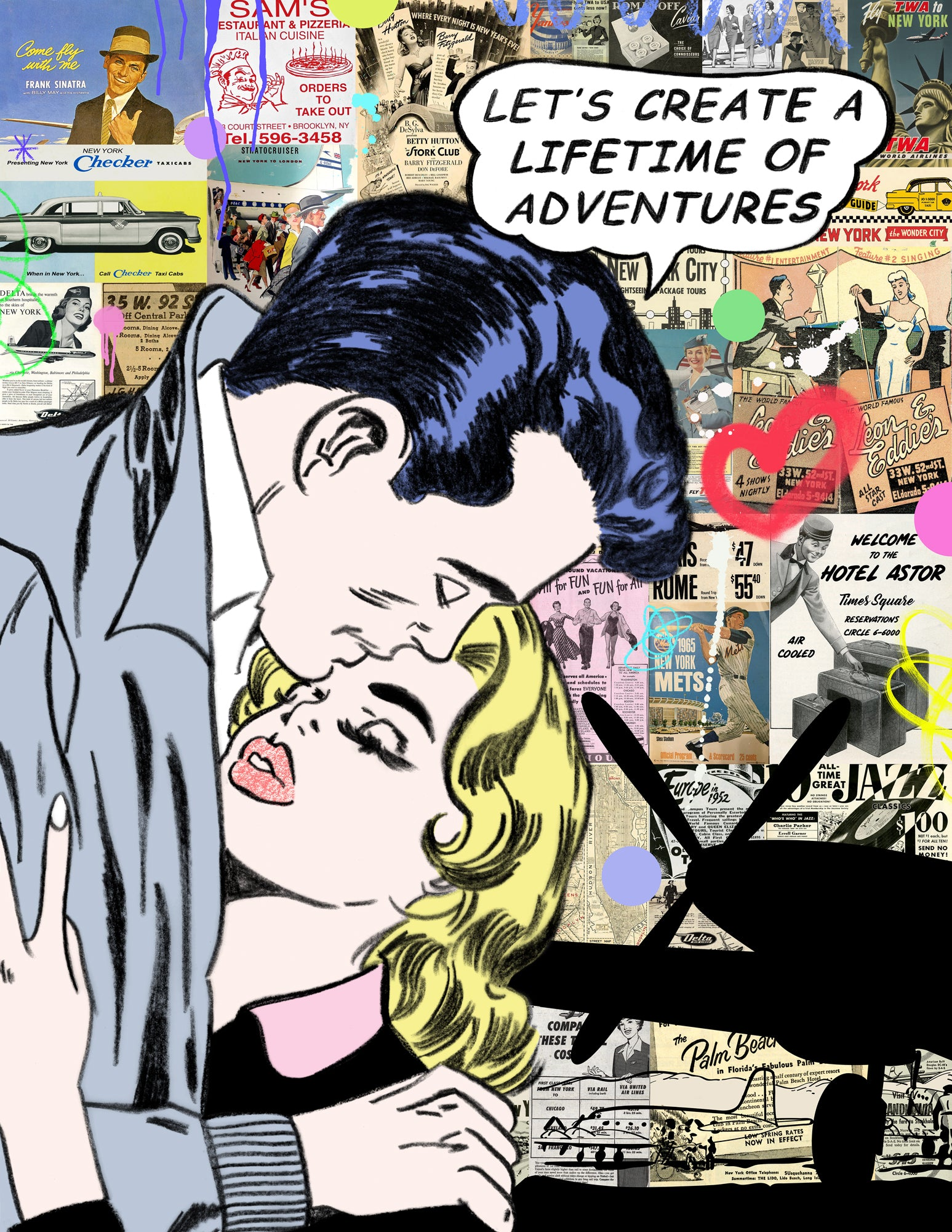 nelson de la nuez king of pop art lifetime of adventure love romance travel