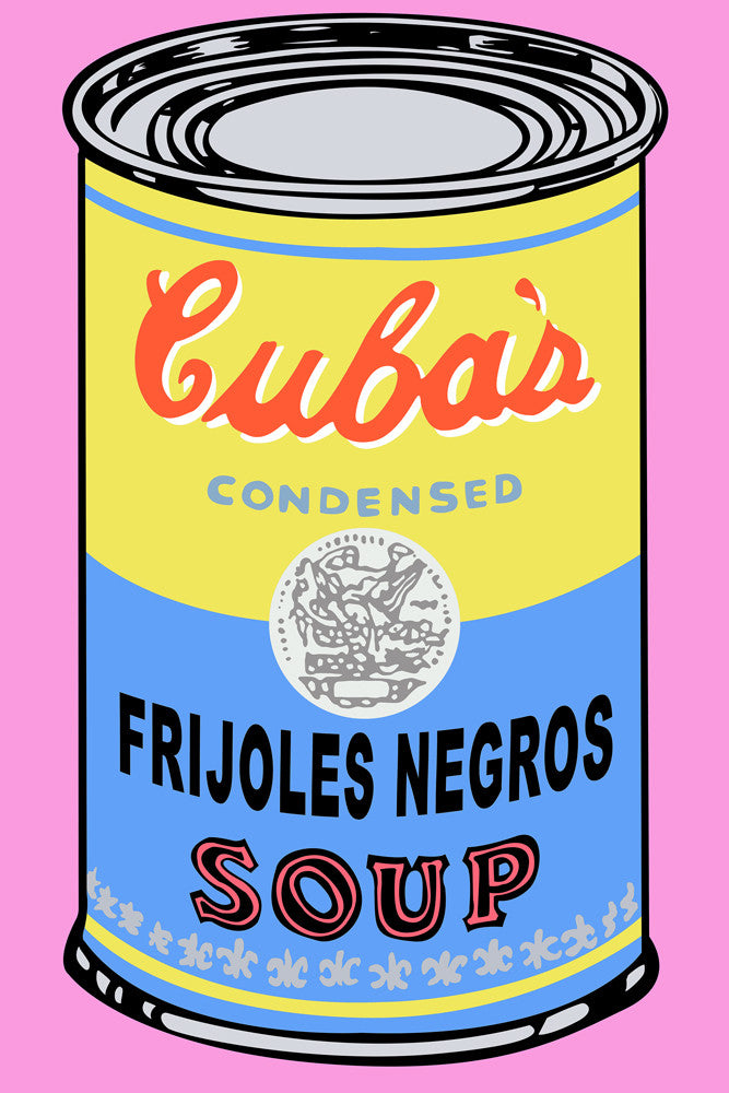 Soup of the Day: Frijoles Negros Print