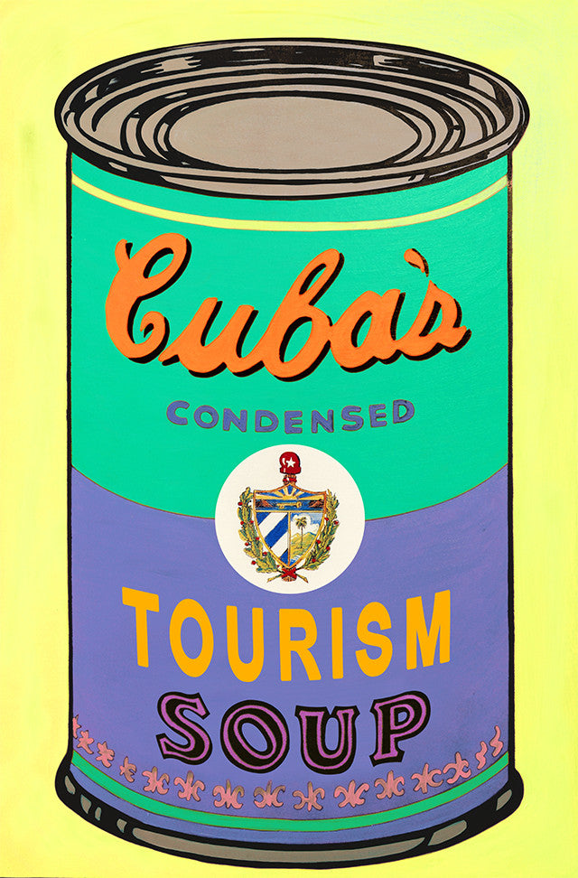 Soup of the Day: Cuban Tourism Print