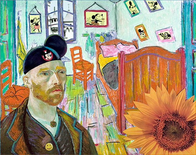 Van Goghs to Disneyland Print