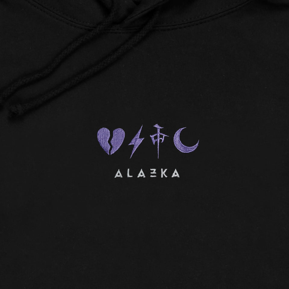 Alazka Embroidered - Hoodie