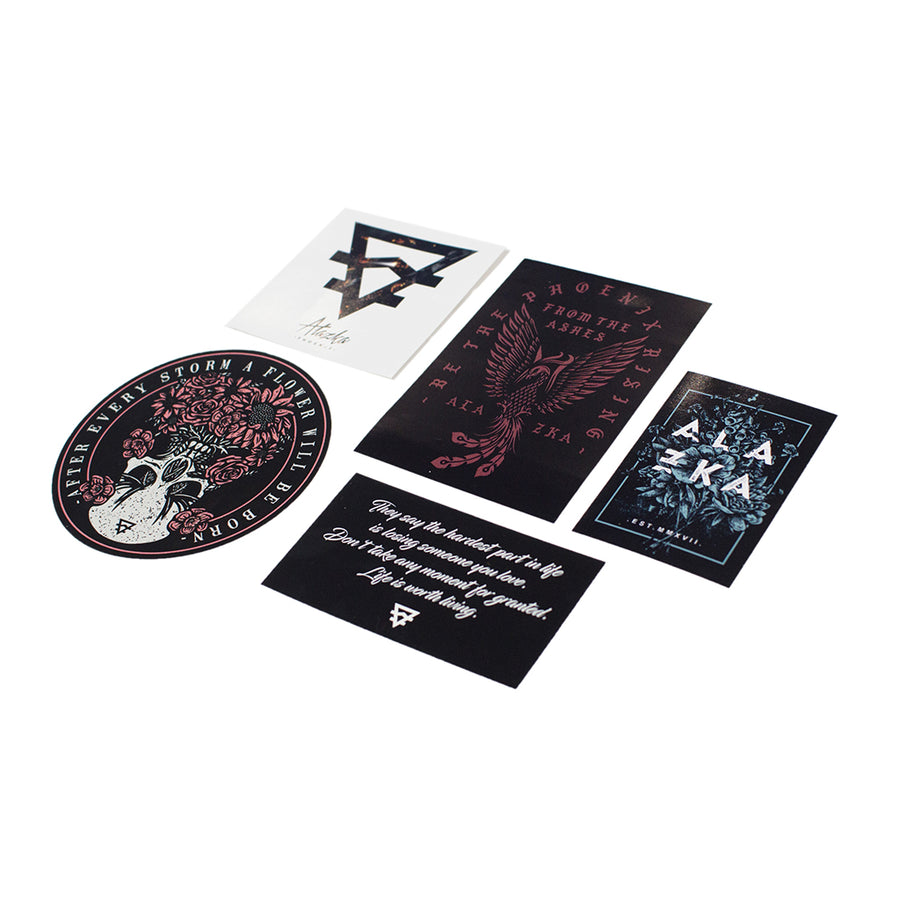 Alazka - Sticker Pack - ALAZKA APPAREL