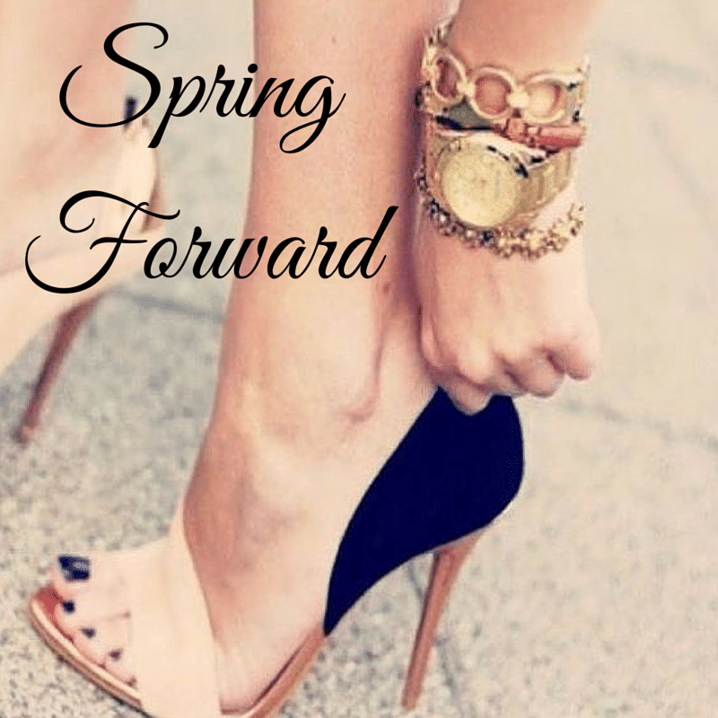 Spring Forward With Beautiful Feet