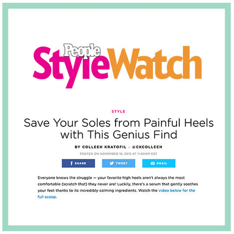 people style watch sole serum