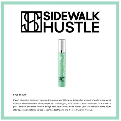 sidewalk hustle sole serum