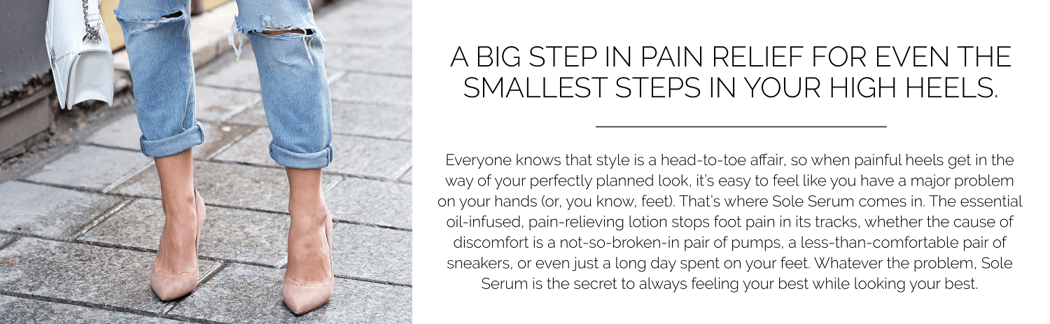 sole serum blurb