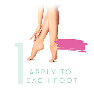 how-to apply to foot