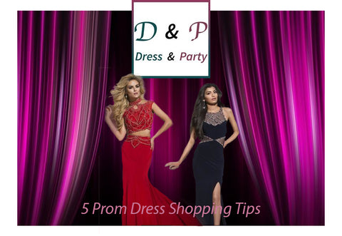 Prom Dress Shopping Tips