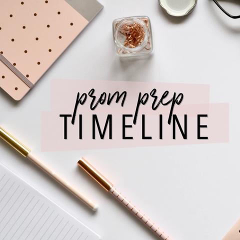 Prom Prep Timeline Dress & Party