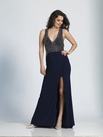 Dave & Johnny Prom Dress 1729 Black