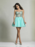 Homecoming Dress Dave & Johnny 2210