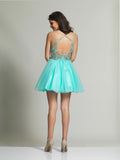 Homecoming Dress Dave & Johnny 2210 Back