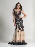Prom Dress Dave & Johnny 2345