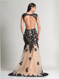 Prom Dress Dave & Johnny 2345 Back