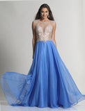 Dave & Johnny 2366 Prom Dress Periwinkle