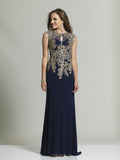 Prom Dress Dave & Johnny 2450