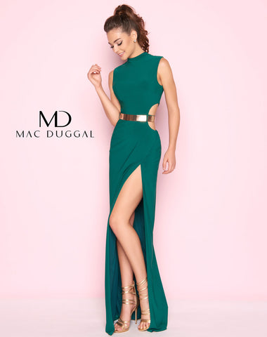Mac Duggal 25008L Prom Dress Emerald