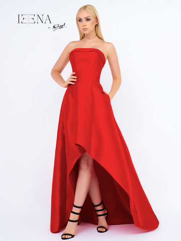 Mac Duggal 25009I Prom Dress Red