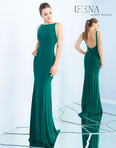 Mac Duggal 25220I Prom Dress Emerald