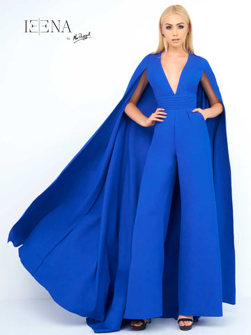 Mac Duggal 25514I Prom Dress Royal Blue