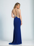 Prom Dress Dave & Johnny 2716 Sapphire Back