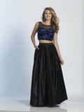 Dave & Johnny Prom Dress 2915 Black