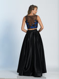 Dave & Johnny Prom Dress 2915 Black Back