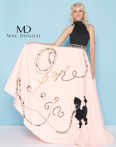 Mac Duggal 40763H Prom Dress Oh La La Pink