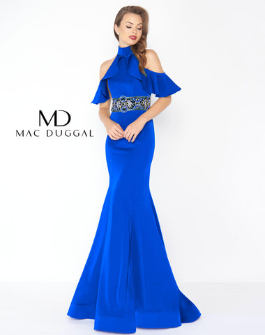 Mac Duggal 48724R Prom Dress Royal