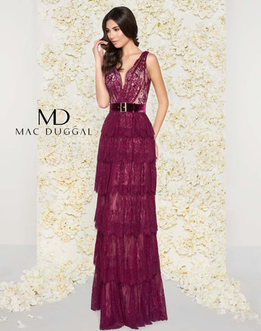 Mac Duggal Couture 50423 Amethyst